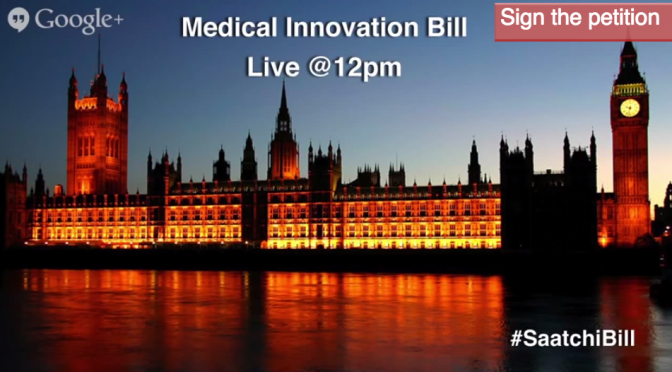 Medical Innovation Bill launches in the House of Lords