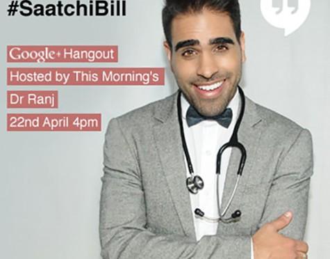 Dr Ranj Medical Innovation Bill Google Hangout