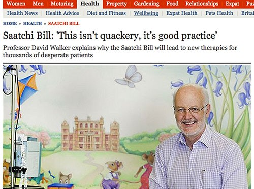 Prof-Walker-Telegraph-Medical Innovation Bill