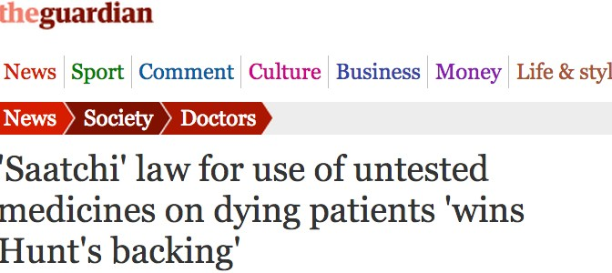 Guardian - Medical Innovation Bill thumbnail