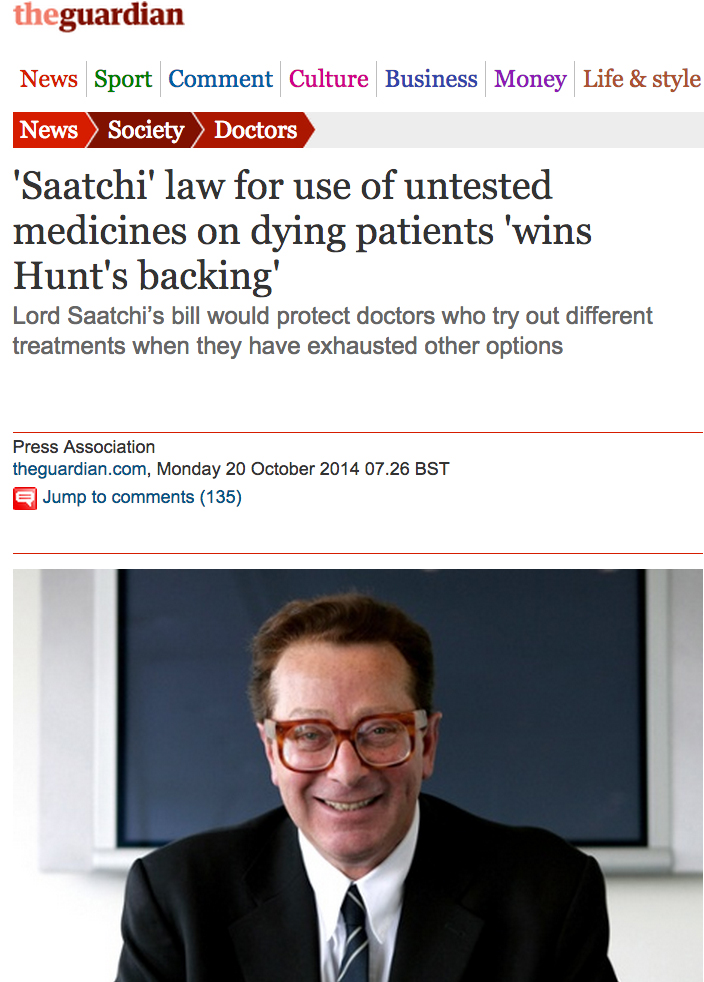 Guardian - Medical Innovation Bill