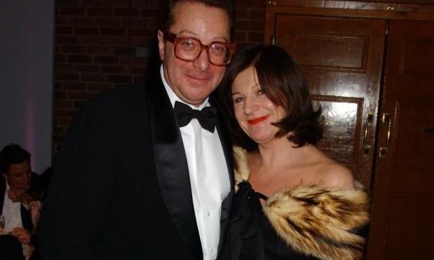 Lord Saatchi and Josephine Hart